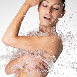 acidic water is great for body washing