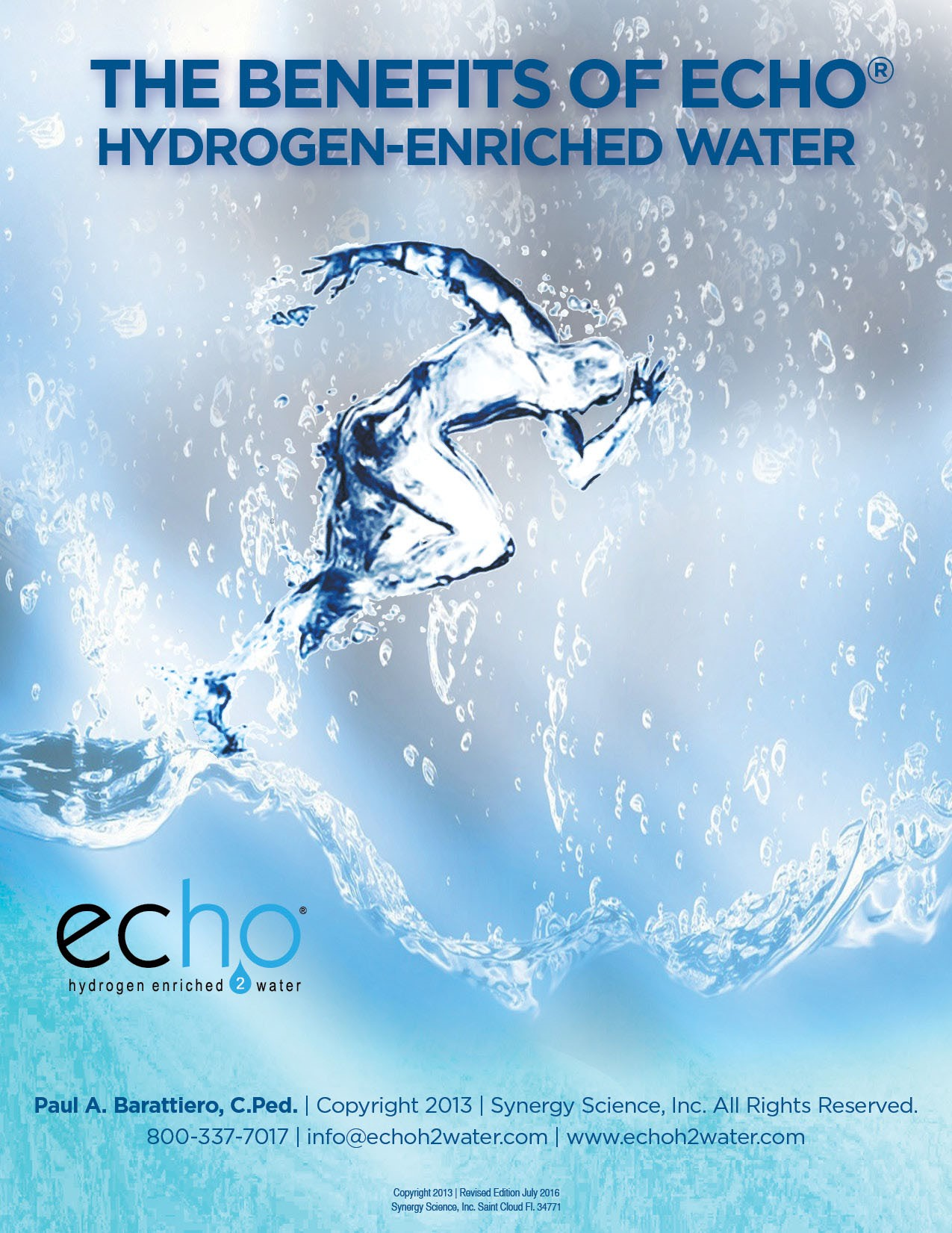 benefits of echo h2 water
